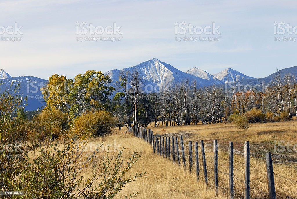 Fall in the MOuntains stock photo