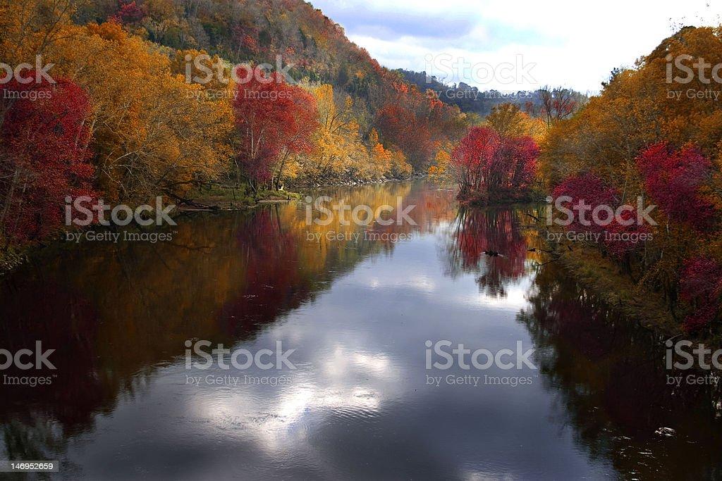 fall in tn royalty-free stock photo