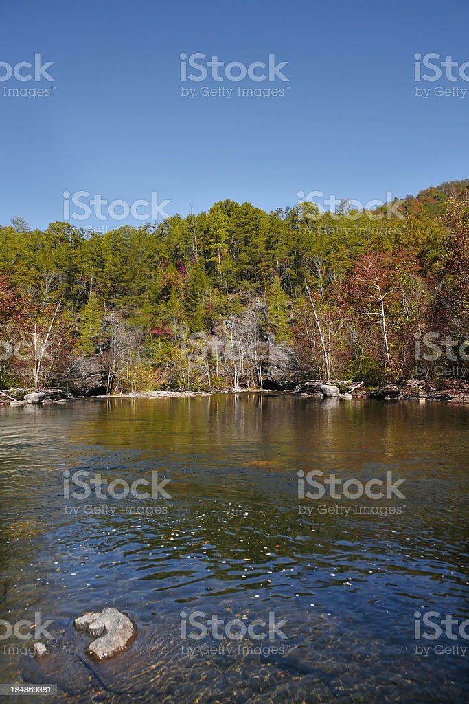 Fall Lake royalty-free stock photo