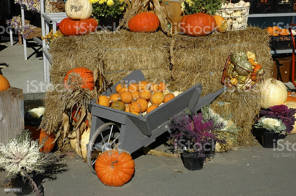 Fall market royalty-free stock photo