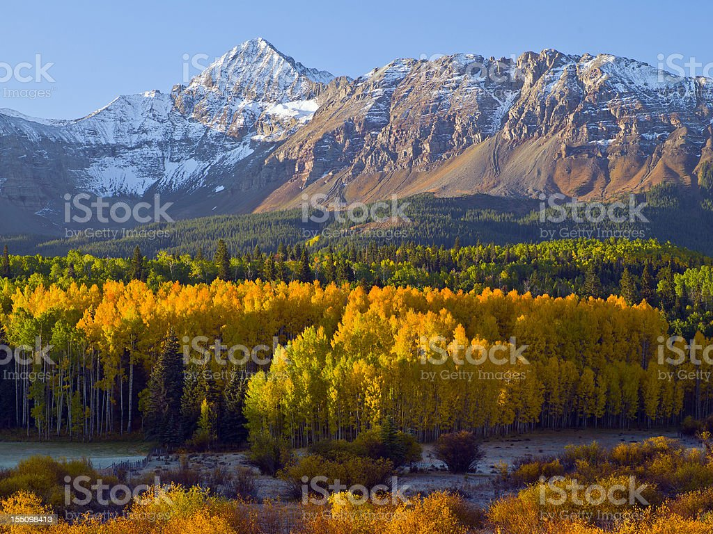 Fall Mountain Scenic royalty-free stock photo