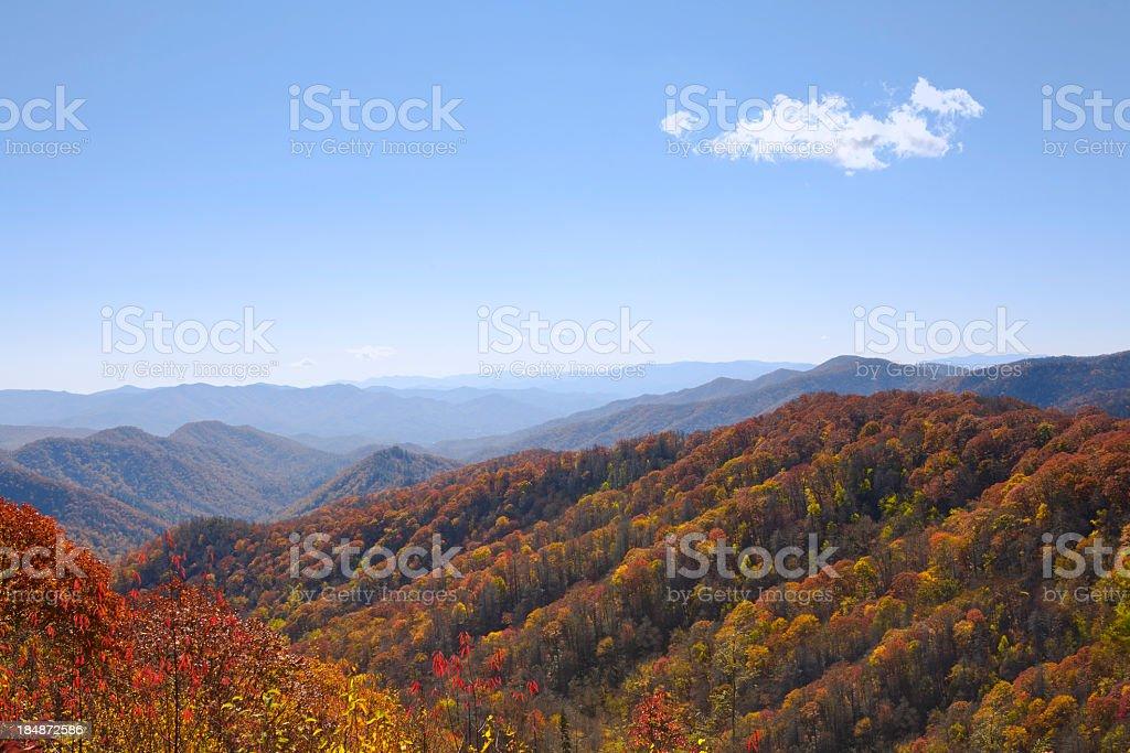 Fall Mountains royalty-free stock photo