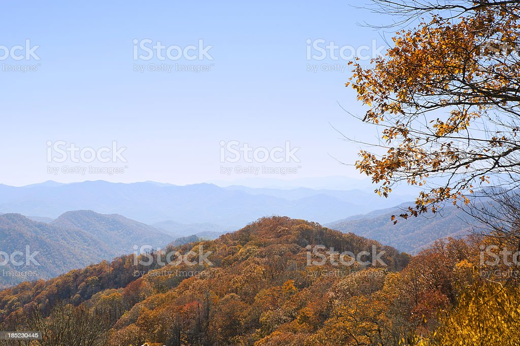Fall Mountains royalty-free stock photo