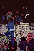 Fall of the Berliner wall November 1989