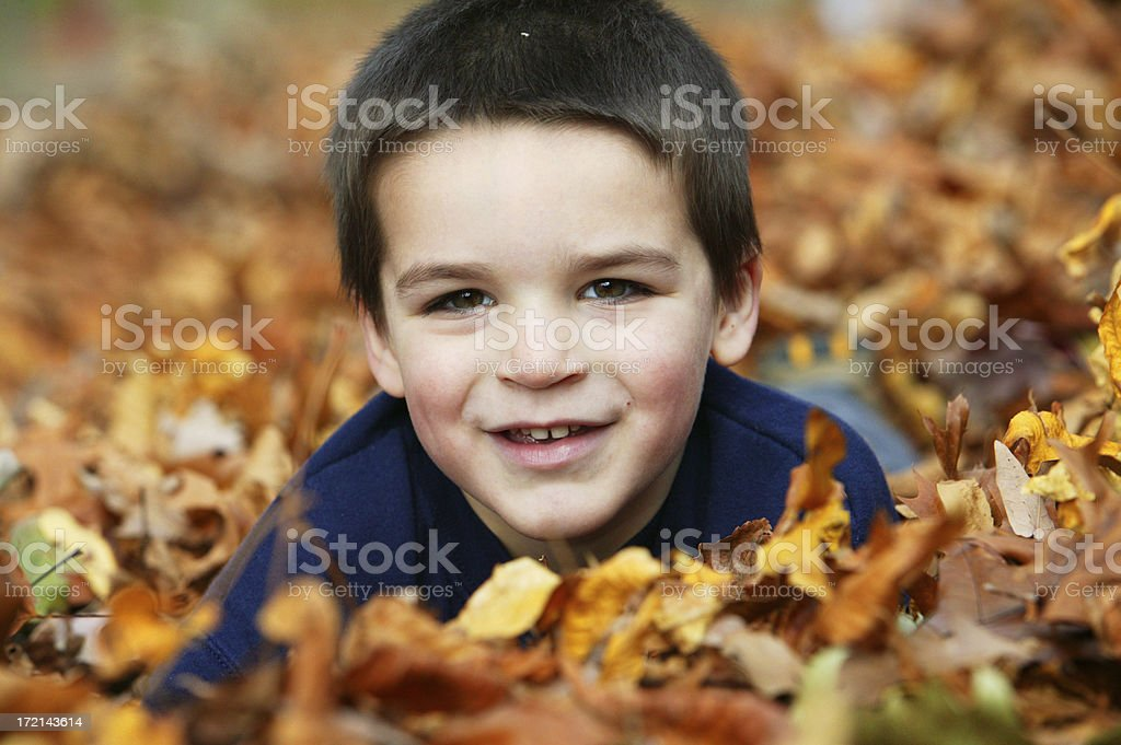 fall portrait royalty-free stock photo