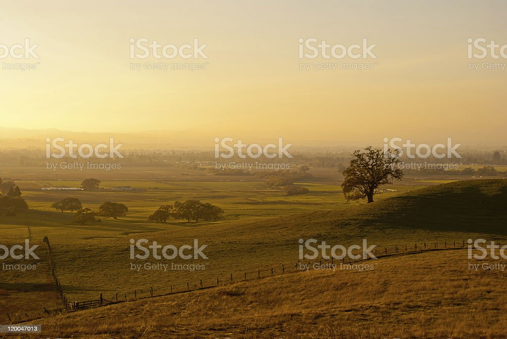 Fall Ranchland royalty-free stock photo