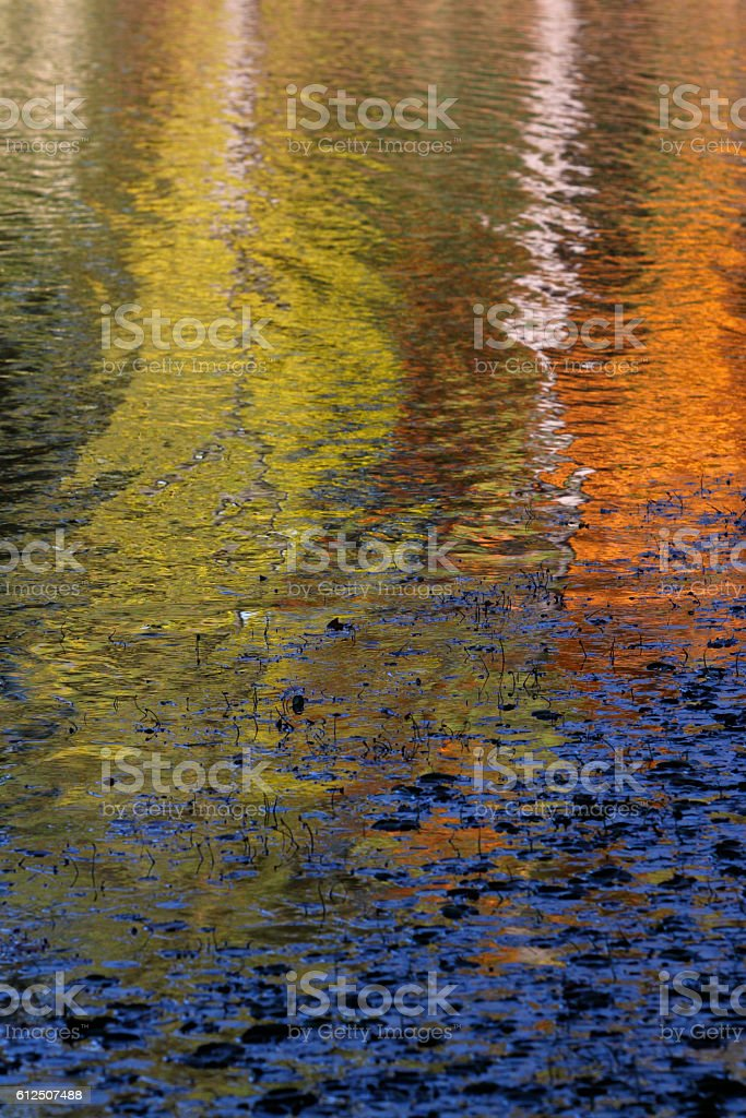 Fall Reflections stock photo