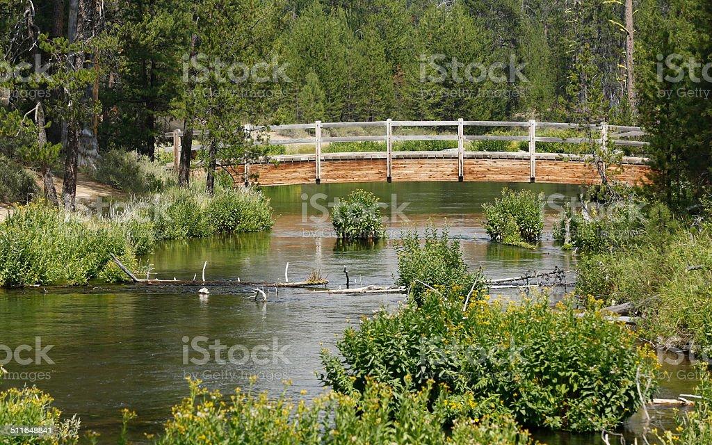 Fall River Bridge royalty-free stock photo