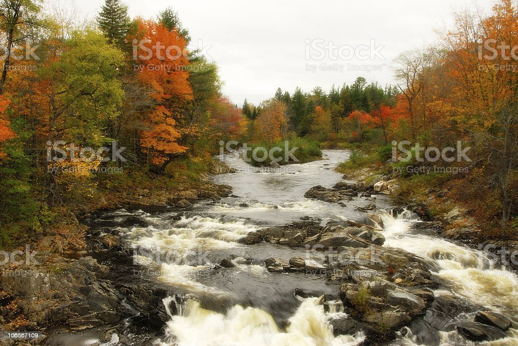 Fall River stock photo