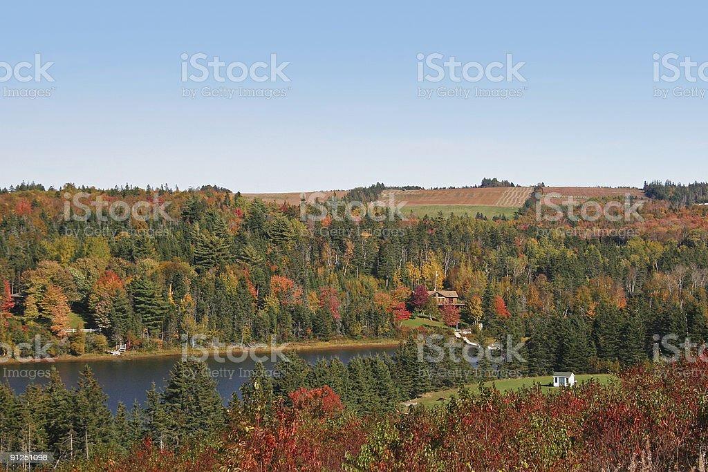 Fall River royalty-free stock photo