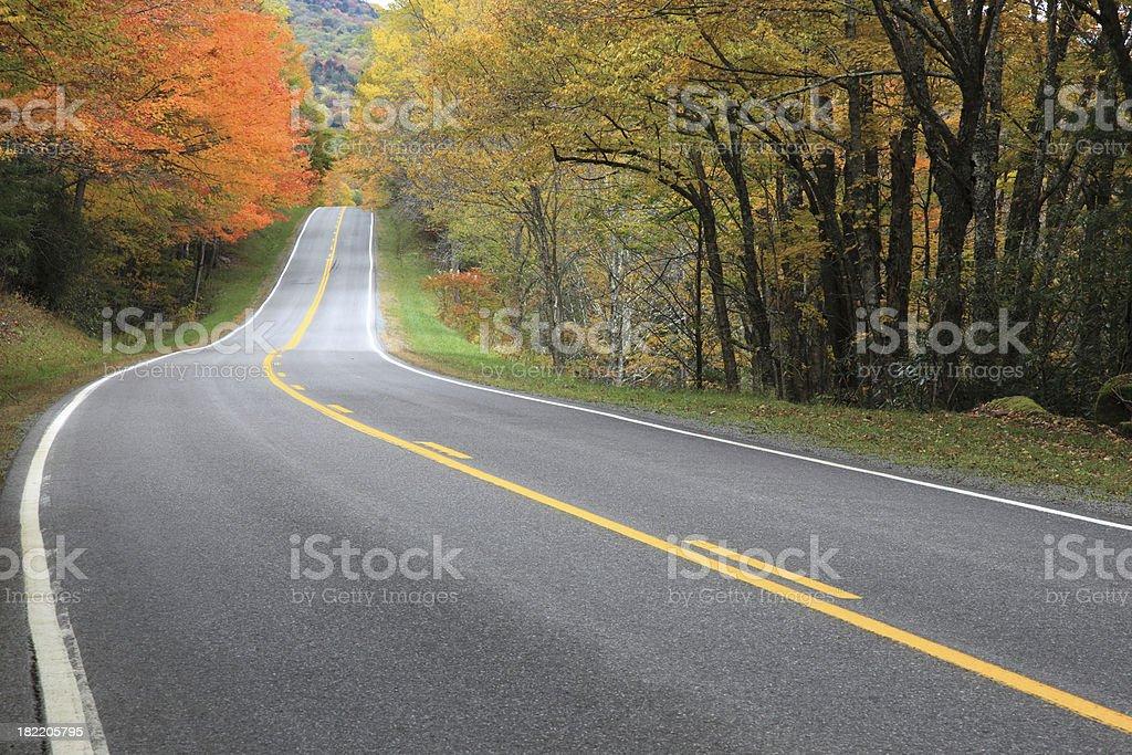 Fall Roadtrip royalty-free stock photo