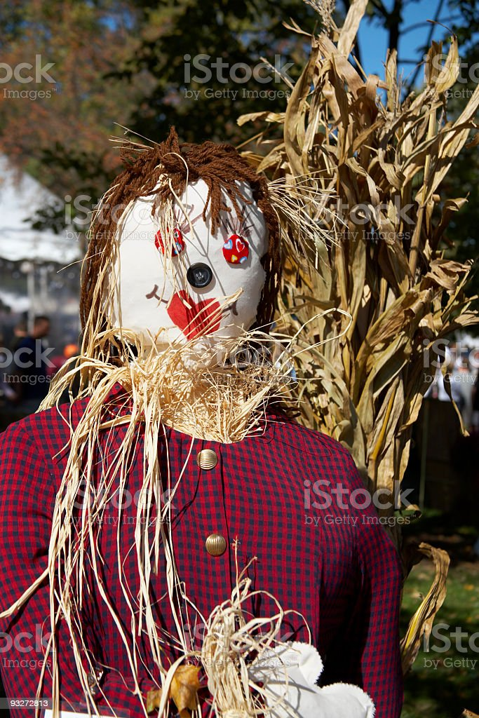 Fall Scarecrows royalty-free stock photo