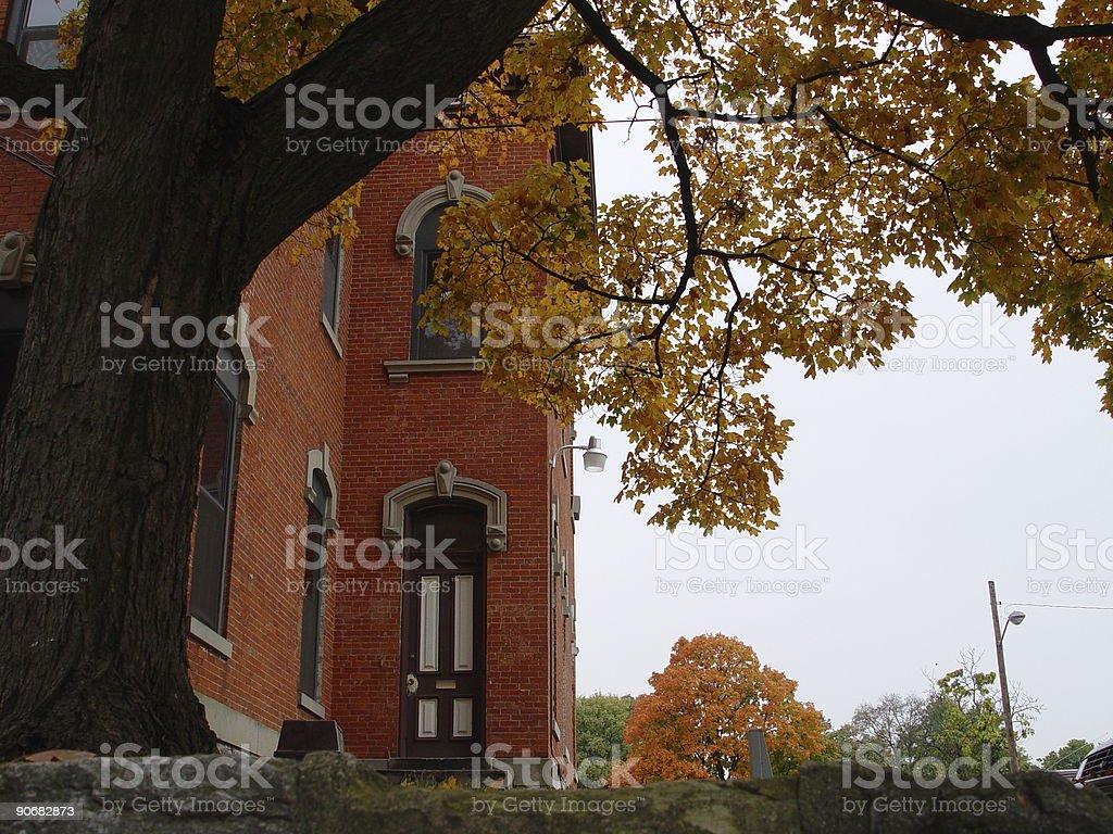 fall scene royalty-free stock photo