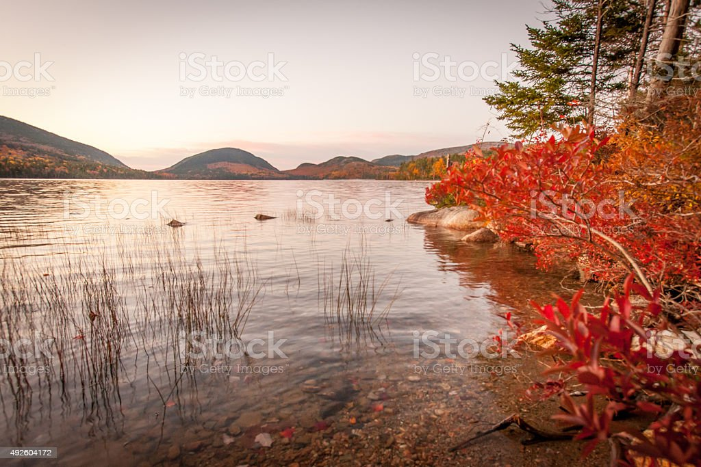 Fall Shore stock photo