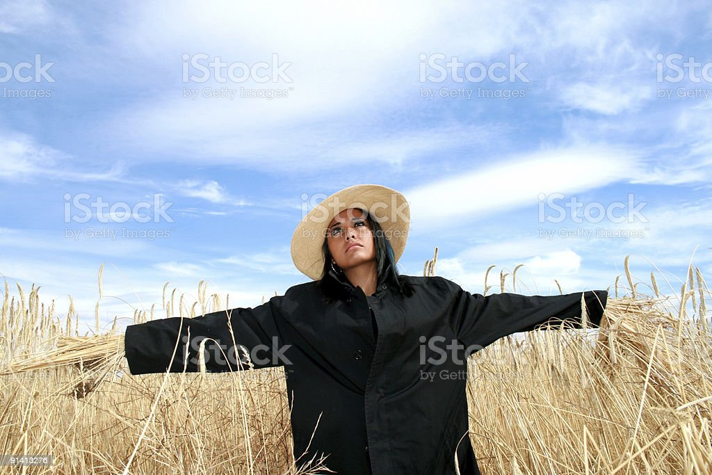 O Fall Thou Dost Scare Me royalty-free stock photo
