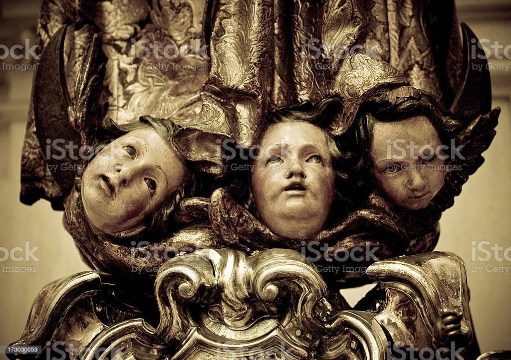 fallen angels royalty-free stock photo