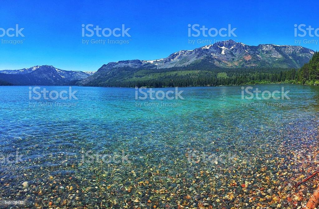 Fallen Leaf Lake stock photo