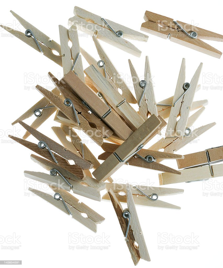 falling clips1 royalty-free stock photo