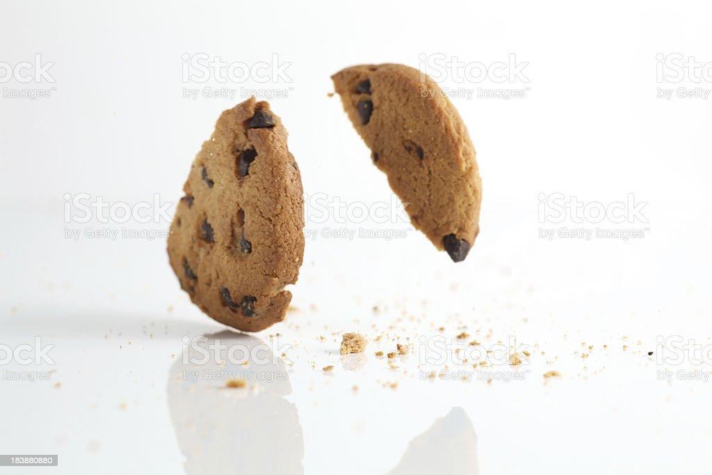 Falling Cookies stock photo