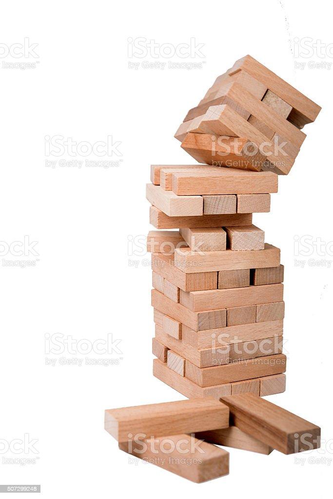 Falling Down stock photo