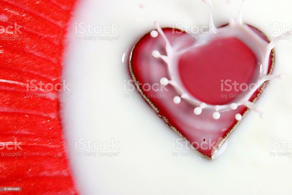 Falling in love 6 royalty-free stock photo