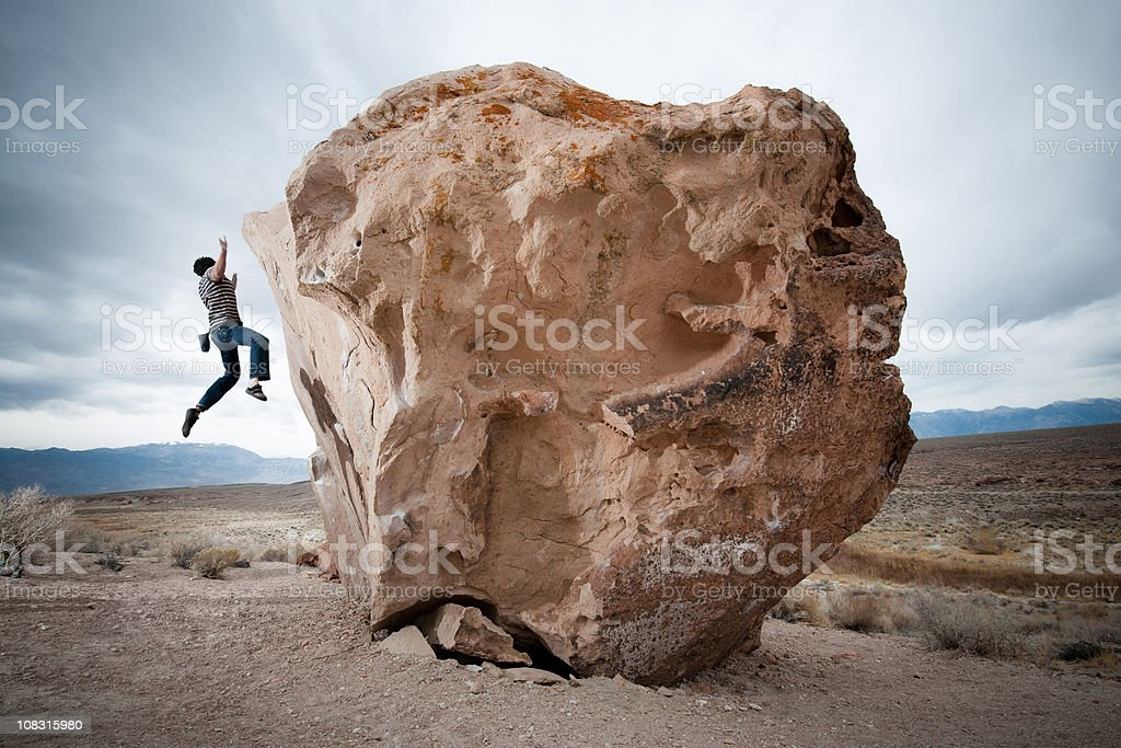 Falling Off royalty-free stock photo