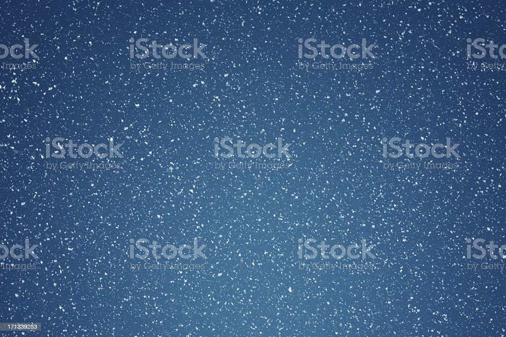 Falling Snow Background stock photo