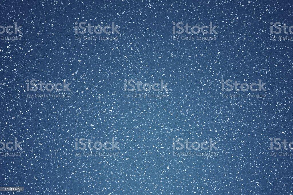 Falling Snow Background stock photo