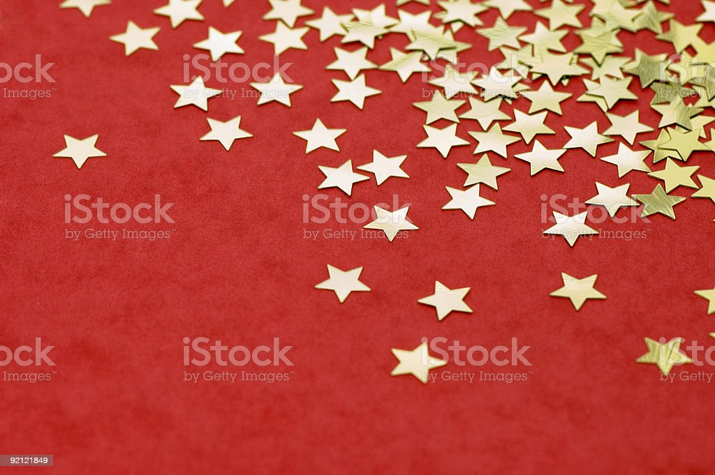 Falling stars royalty-free stock photo