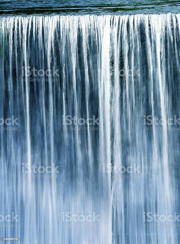 Falling Water stock photo