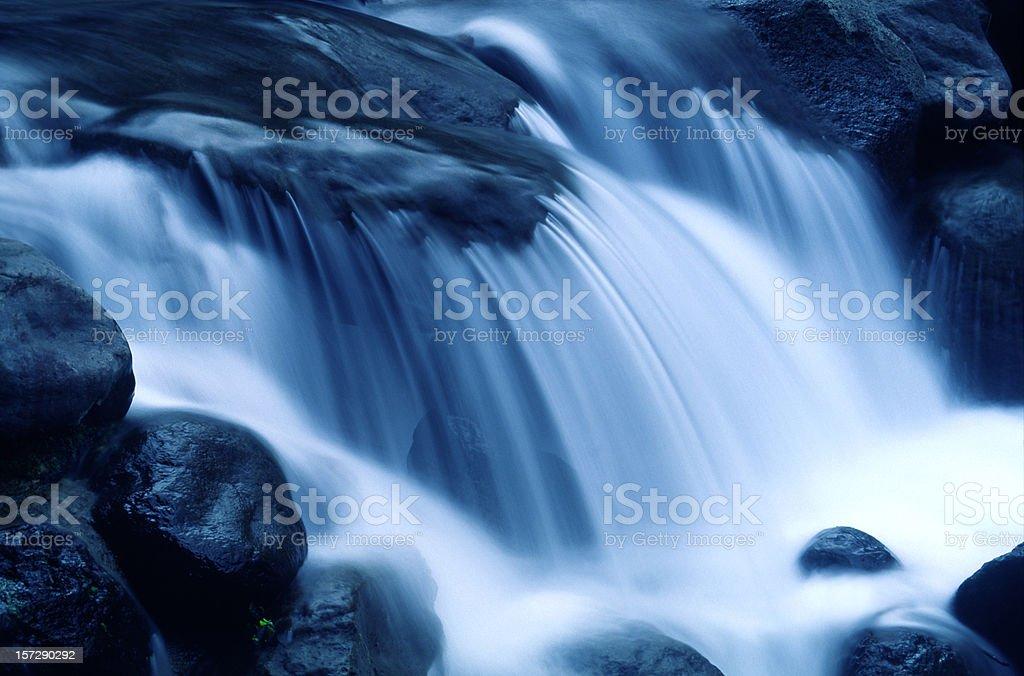 Falling Water stock photo
