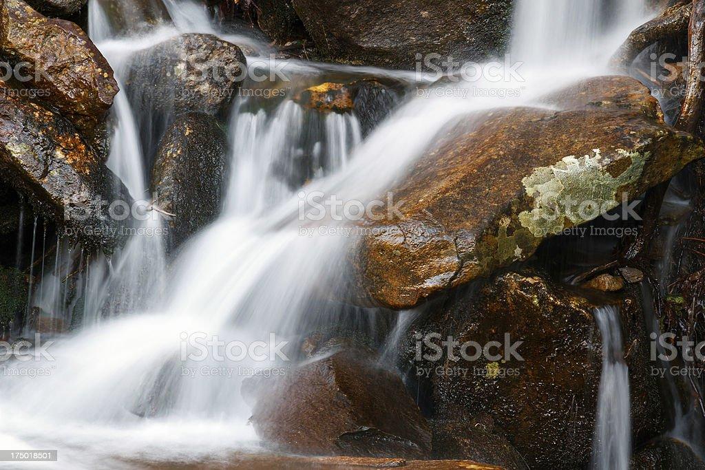 Cascata d'acqua foto stock royalty-free