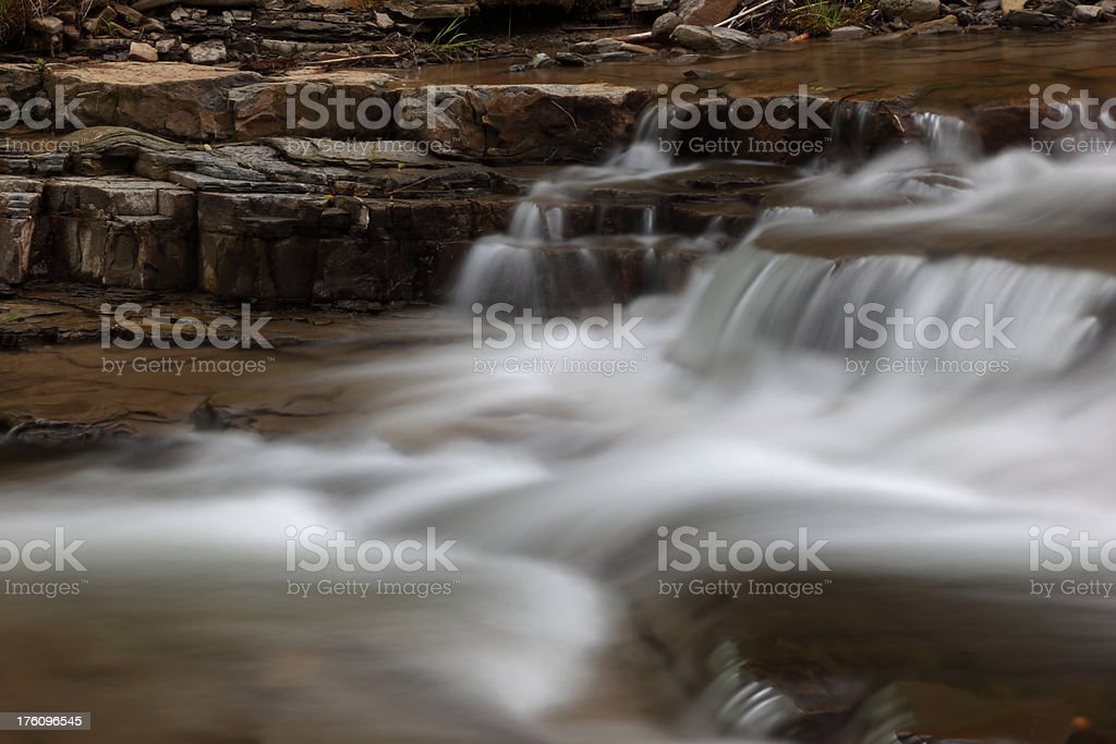 Falling Water royalty-free stock photo