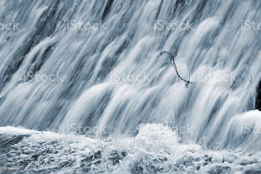 Falling waters royalty-free stock photo