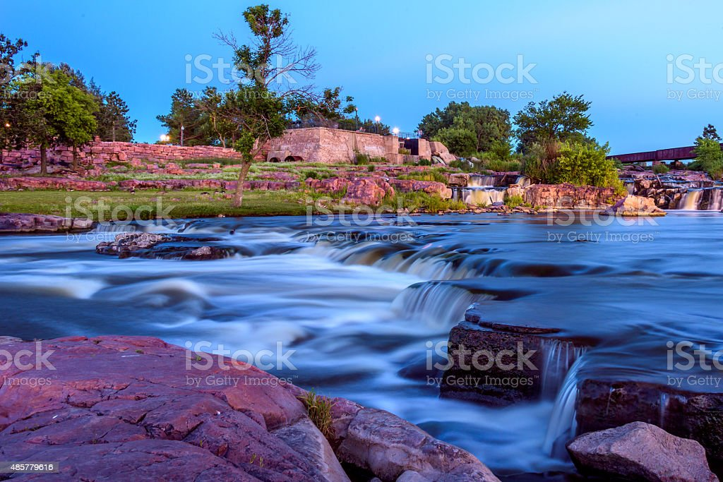 Falling Waters stock photo