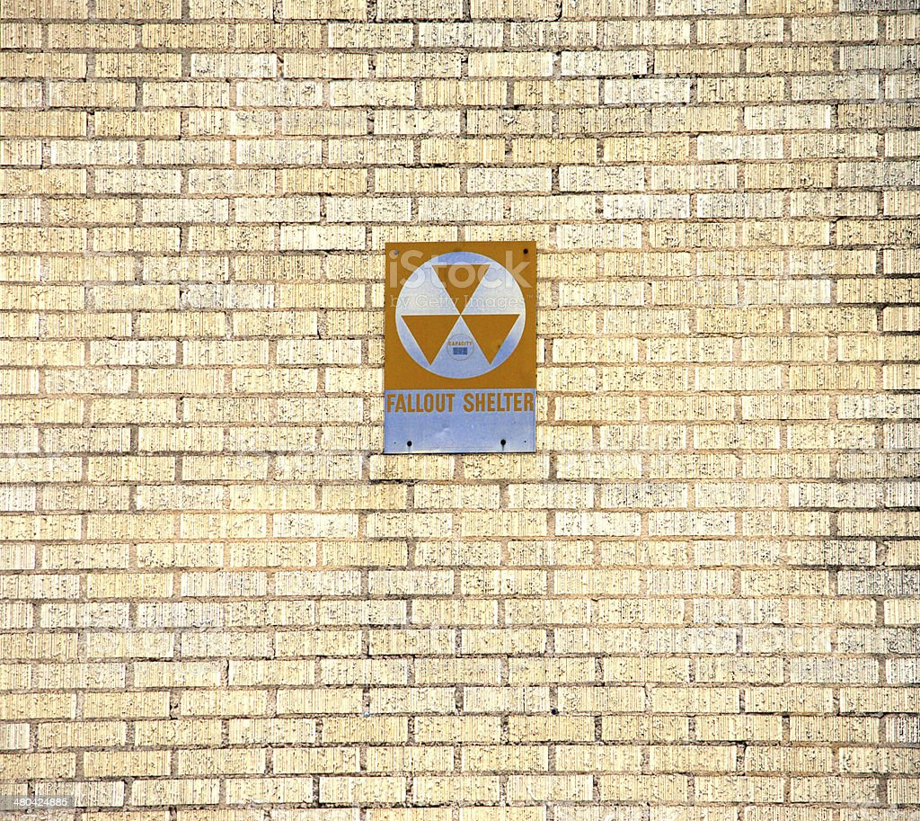 Fallout Shelter royalty-free stock photo