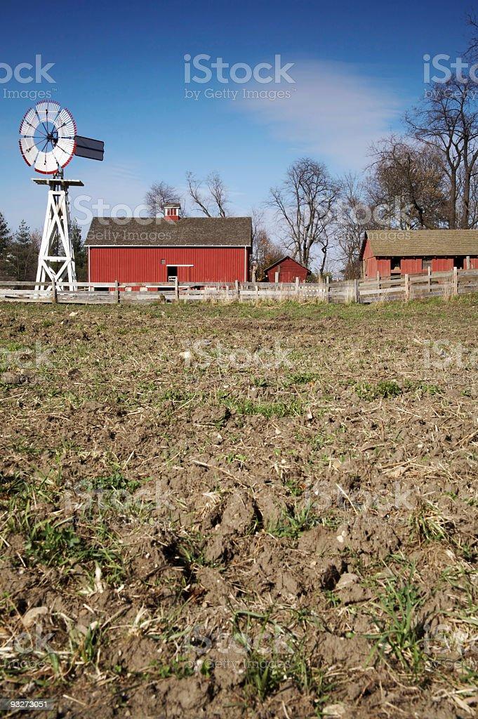 Fallow Land royalty-free stock photo