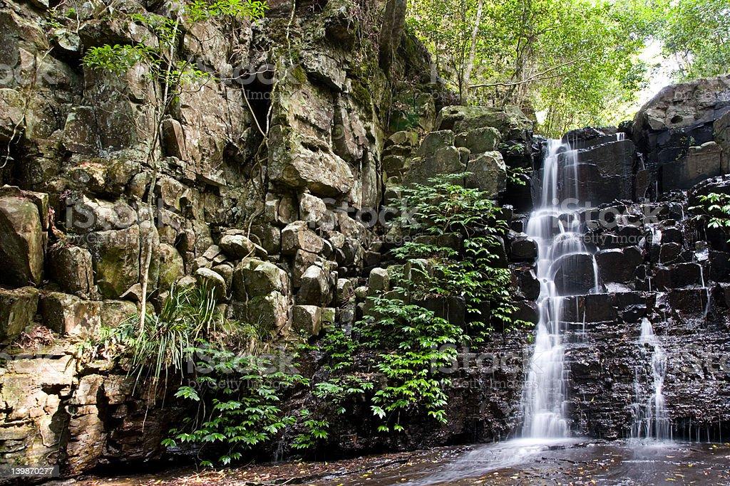 Falls, Barrington Tops NP, NSW, Australia royalty-free stock photo