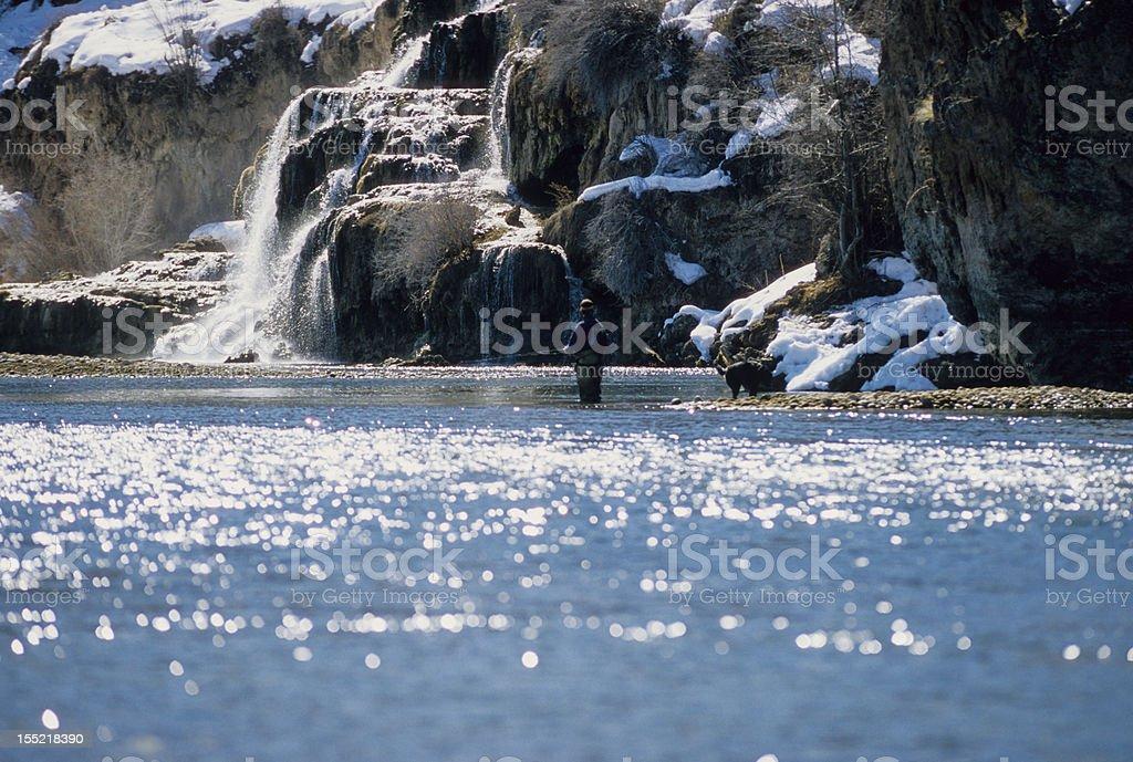 Falls Creek Waterfall stock photo