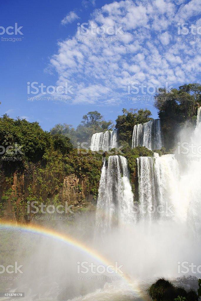 Falls in Iguazu royalty-free stock photo