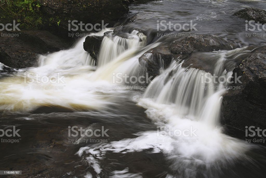 Falls of Dochart stock photo