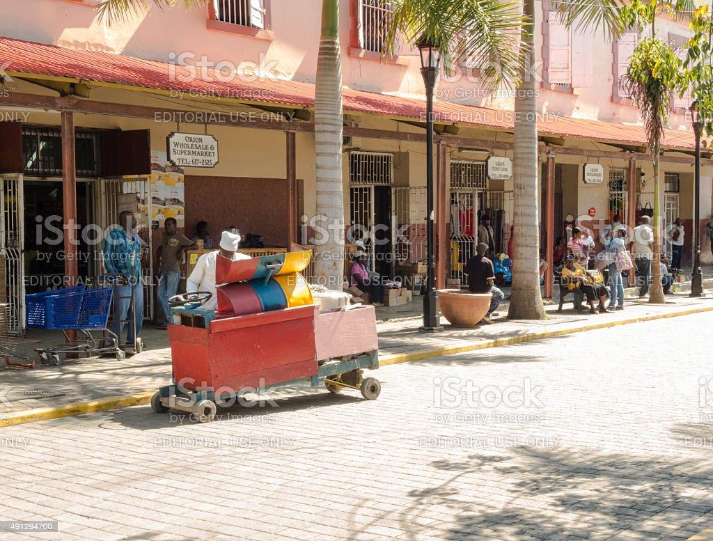 Falmouth - Jamaica stock photo