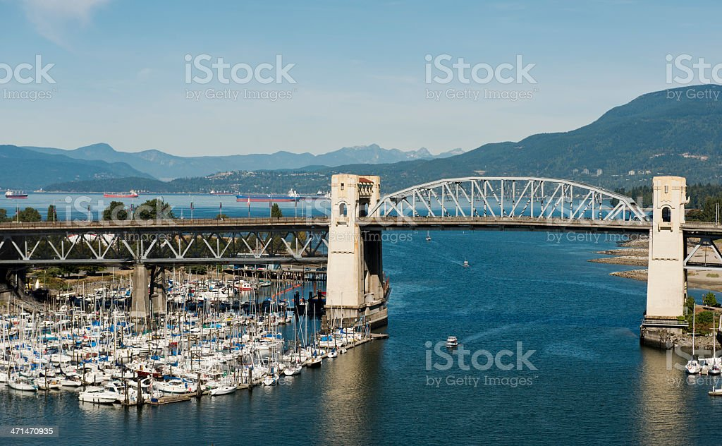 False Creek, Vancouver royalty-free stock photo