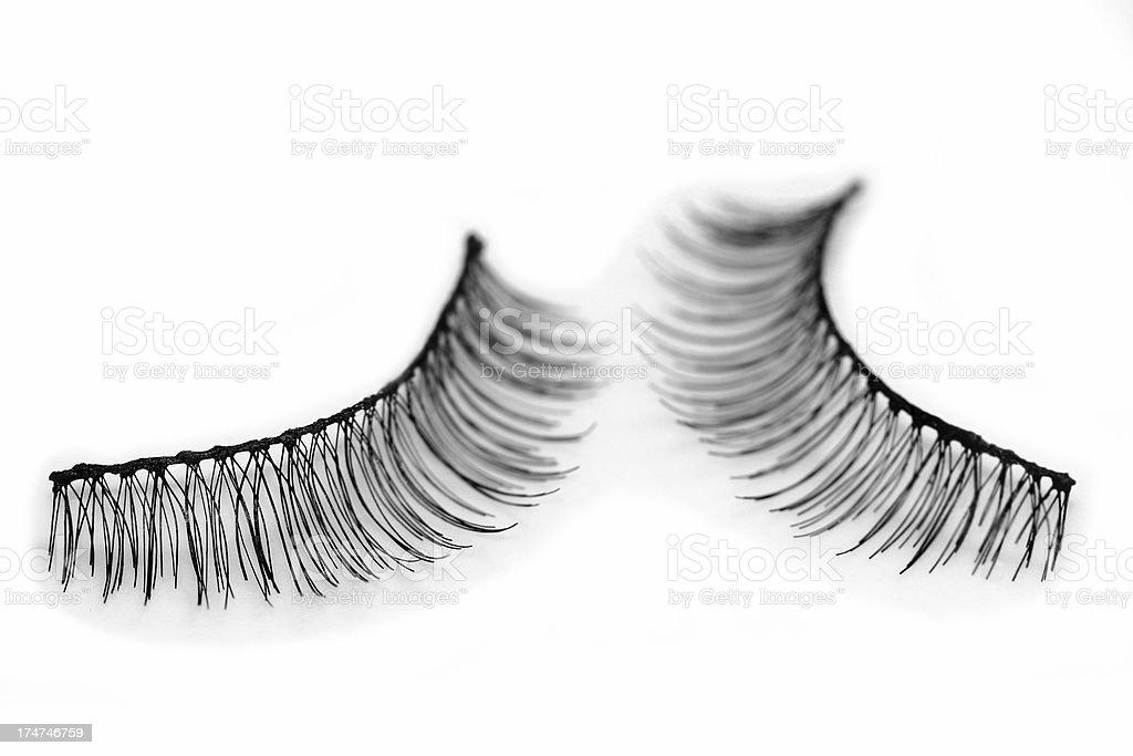 false eyelashes royalty-free stock photo