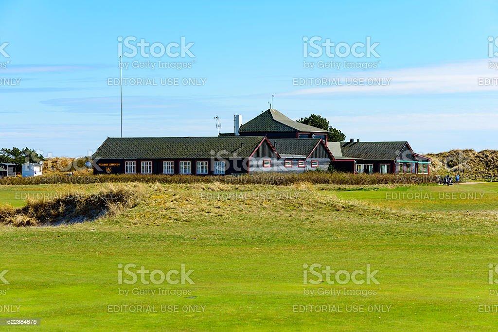 Falsterbo golf club stock photo