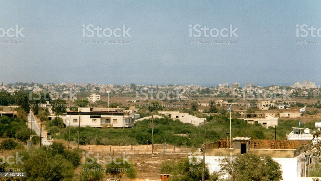 Famagusta coastline, Northern Cyprus stock photo