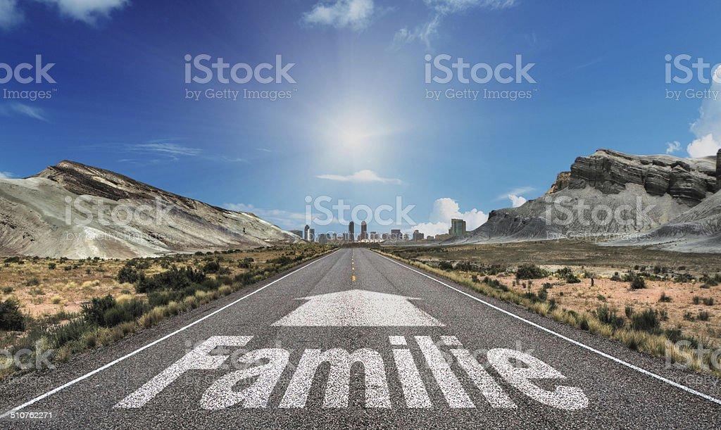 Familie stock photo