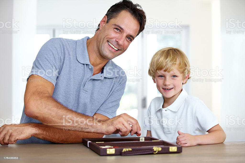 Families that play together stock photo