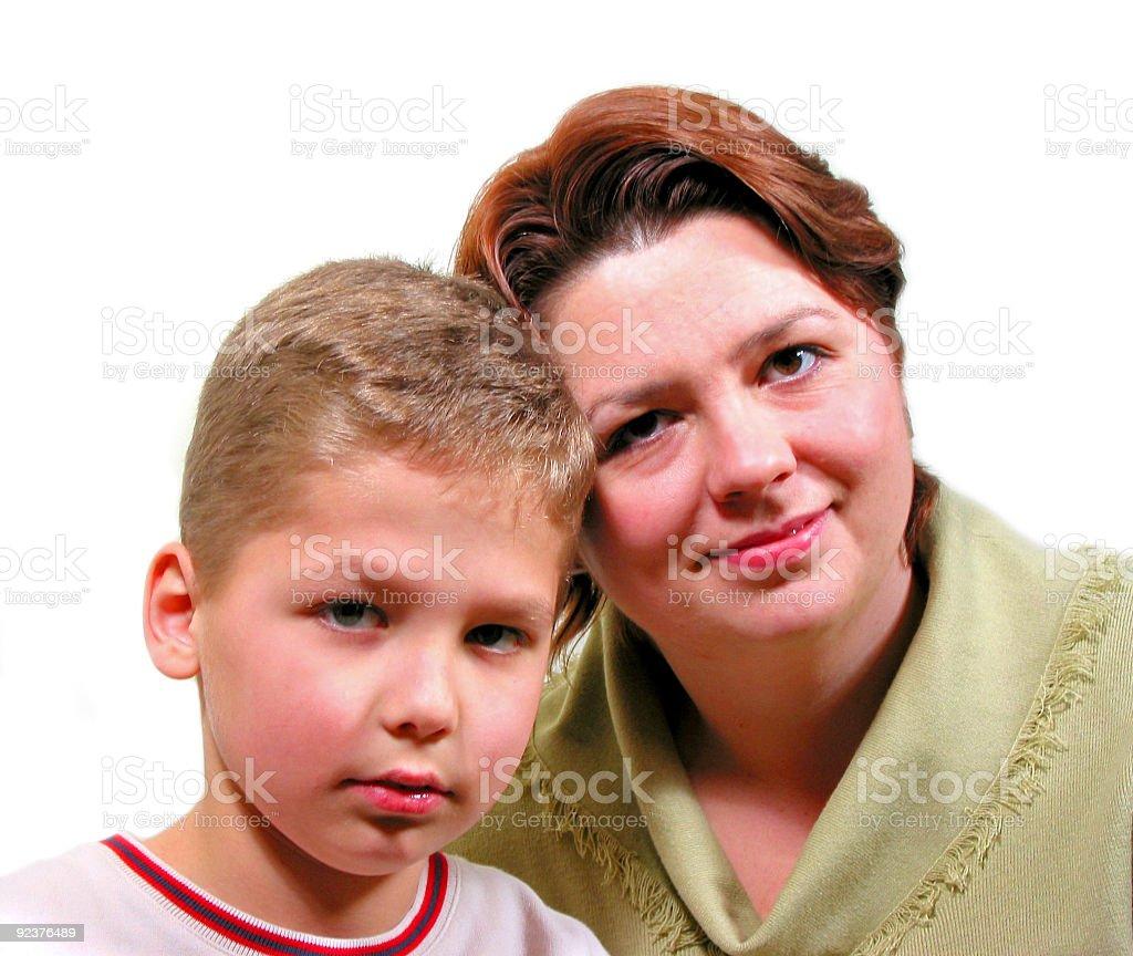 Family 2 royalty-free stock photo