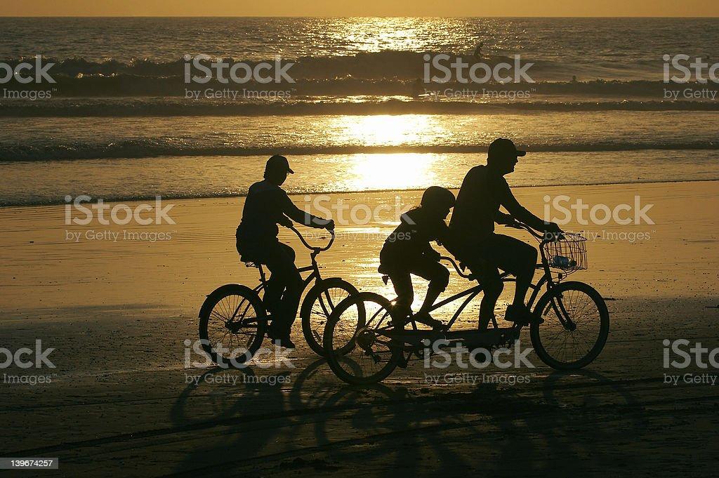 Family activities stock photo